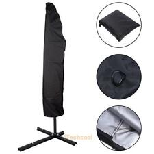 Parasol Banana Umbrella Cover Cantilever Outdoor Garden Waterproof Shield P #T1K