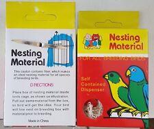 Nesting Material Dispenser for All Breeding Birds (3 Pack)