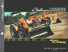 2006 Caterpillar/Agco Challenger Ml70B Ml90B Loader Sales Brochure
