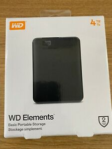 Western Digital Elements 4TB,External,2.5 inch