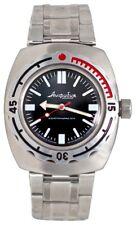 Vostok Amphibian Watch 090916 Diver Military Mechanical Auto 1967 Design New