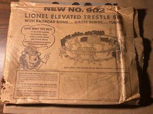1950 Lionel No.902 Trestle set