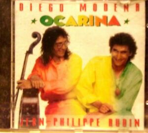 "CD ""OCARINA - DIEGO MODENA"" 1 CD.. SONY MUSIC FRANCE"