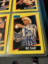 4 Ric Flair WCW wrestling cards