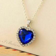 Heart of the Ocean Dark Blue TITANIC Necklace  Boho Bohemian Jewellery Gift UK