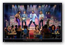 POSTER Legends Theatre Jimi Hendrix Buddy Holly Elvis Presley George Bungarda