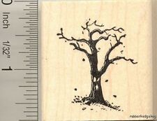 Spooky Tree Rubber Stamp E11106 WM Halloween, creepy, All Hallows Eve, scary