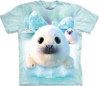 The Mountain Unisex Child Sealpups Animal T Shirt
