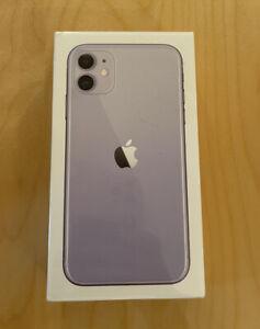BRAND NEW SEALED iPhone 11 256GB PURPLE (UNLOCKED) 1 YEAR APPLE WARRANTY