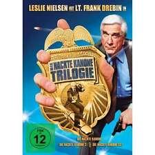 DIE NACKTE KANONE 1 2 3 Trilogie LESLIE NIELSON George Kennedy 3 DVD Box NEU
