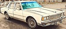 Chevrolet Caprice Buick Electra Sedan Station Wagon 1977 - 1990 Frontscheibe