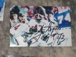Alabama Crimson Tide ANTONIO LANGHAM Signed 4x6 Photo FOOTBALL AUTOGRAPH 1C