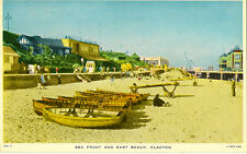 CLACTON-ON-SEA( Essex) : Sea Front and East Beach -TUCK