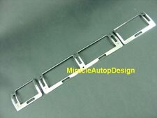 LHD Chrome Stainless Steel AC Air Vent Frames Set For 1995-2001 BMW E38 7-Series