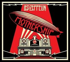 LED ZEPPELIN MOTHERSHIP VERY BEST (DLX) 2 CD+DVD SET Shepard Fairey Art