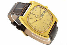 Vintage Omega Geneve Cal.1022 Automatic Gold Plated Mens Watch 630