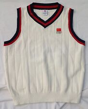 CHINESE OLYMPIC COMMITTEE, OLYMPICS SWEATER VEST, CHINA, MEN XXXL