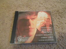 Gabriel Yared-The Talented Mr. Ripley-Promo Only Cd-Sinead O'Connor-Lullaby For