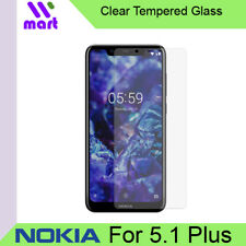 Clear Tempered Glass Screen Protector for Nokia 5.1 Plus
