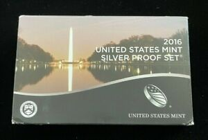 2016 United States Mint Silver Proof Set! Includes COA! **FREE SHIPPING**