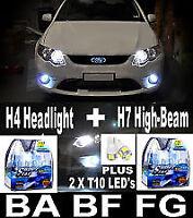 XENON HID Upgrade H4 + H7 Lights LED Parkers FALCON EF EL BA BF FG Mark1