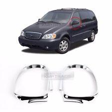 Chrome Side Mirror Cover Molding Trim K386 2P for KIA 2002-2005 Sedona Carnival