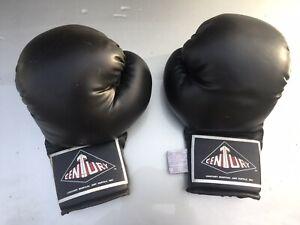 Century 14 OZ Boxing Gloves Black Used