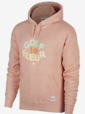 Converse One Star Golf Le Fleur Hoodie Hoody Pullover Peach Pink Orange Size XXL