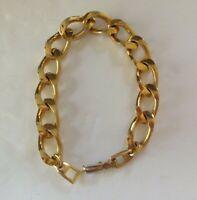 NAPIER Bracelet signed Thick Link  circa 1960's Unisex