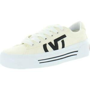 Vans Sid Ni Canvas Low Top Platform Vulcanized Athletic Fashion Sneakers