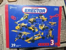 Two Erector Set Books Instructions Only Police /& Fire Rescue Sets 0406 /& 0407