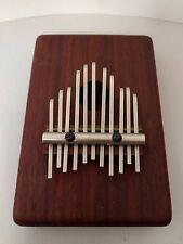 Kalimba Music Instrument Goshen TM 11-Note Box Mounted African Paduak Wood