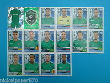 Topps Champions League 2016-17 2017 Team Ludogorets 2016 2017 completo
