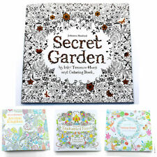 Enchanted Forest Coloring Books Drawing Exercise Books For Children Young New