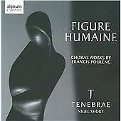Poulenc: Figure Humaine and other works (Tenebrae), Tenebrae, Very Good CD