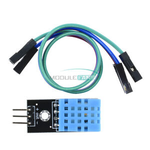 1/2/5/10PCS DHT11 Temperature and Relative Humidity Sensor Module for Arduino US