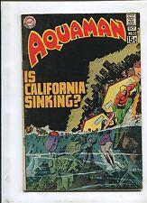 AQUAMAN #53 (6.0) IS CALIFORNIA SINKING?!