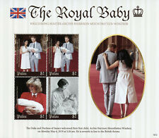More details for palau 2019 mnh prince archie royal baby harry & meghan 4v m/s royalty stamps