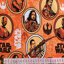 Cotton Quilt fabric Print fabric (Star Wars character figures)per meter