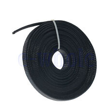 10m 10mm Expandable PET Braided Cable Wire Sleeving Good Flexibility Elastic DT