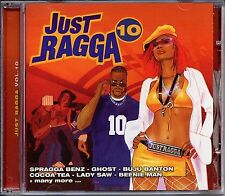 CD Dancehall Collection Just Ragga Vol.10 Various Artists Sealed Album Reggae