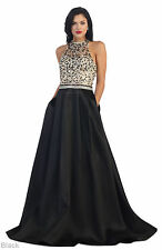 SALE ! NEW RED CARPET EVENING LONG FORMAL GOWN SPECIAL OCCASION PROM QUEEN DRESS