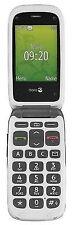 "Doro PhoneEasy 611 3"" 2g Flip Mobile Phone Unlocked 1yr -graphite a"