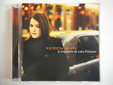 KEREN ANN : LA BIOGRAPHIE DE LUKA PHILIPSEN - [ CD ALBUM ] --> PORT GRATUIT