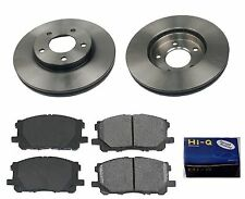 Front Ceramic Brake Pad Set & Rotor Kit for 2001-2004 Mazda Tribute