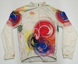 Xintown Colourful Long Sleeve Cycling Jersey Men's XXL