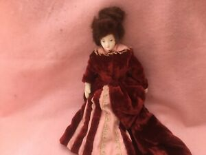 China Head Low Brow lady doll
