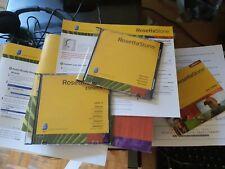 Rosetta Stone Espanol Spanish (Latin America) TOTALe Level 1-5 Set OPENED BOX