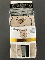 3 Paar Disney Winnie Pooh Damen Socken Mädchen Strümpfe Puuh Bunt 37-42 Primark
