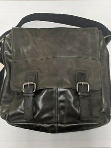 Fossil Perry North/South Leather Messenger Bag MBG1017001 $158 MSRP